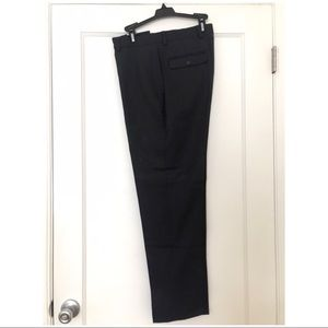 J. Crew Pants - J. Crew Dark Gray and White Pinstripe Dress Pant